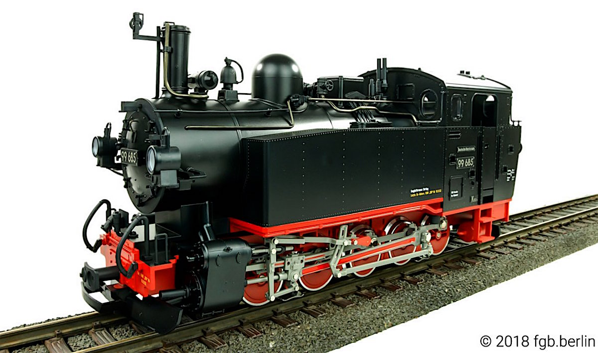 DR Dampflok (Steam Locomotive) 99 685