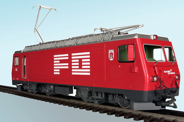 FO HGe 4/4 II E-Lok (Electric locomotive)