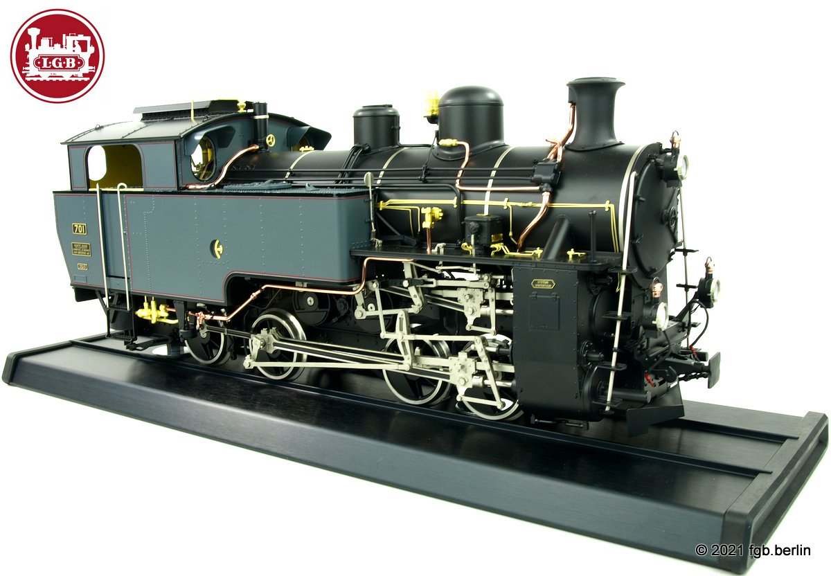 DFB Zahnraddampflok (Cog Wheel Steam Locomotive) HG 4/4 Nr. 701