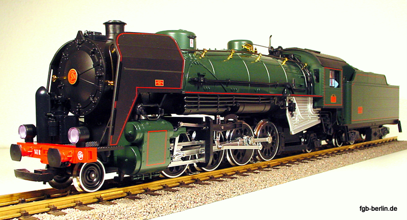 SNCF Dampflok (Steam locomotive) 141R