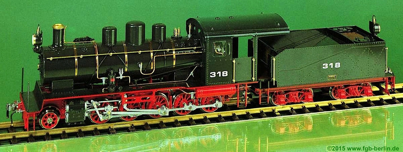 Magnus Decapod-Typ, Tungpubahn (China) Dampflokomotive (Steam Locomotive) 318