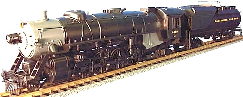 B&O Dampflok (Steam locomotive) Mikado