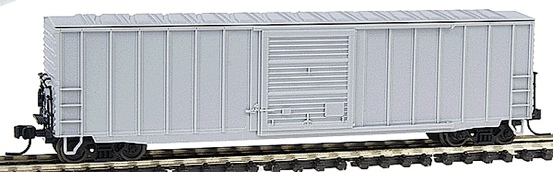 40-Fuß Plug Door Güterwagen, unbeschriftet (40-ft Plug Door Box car, undecorated)