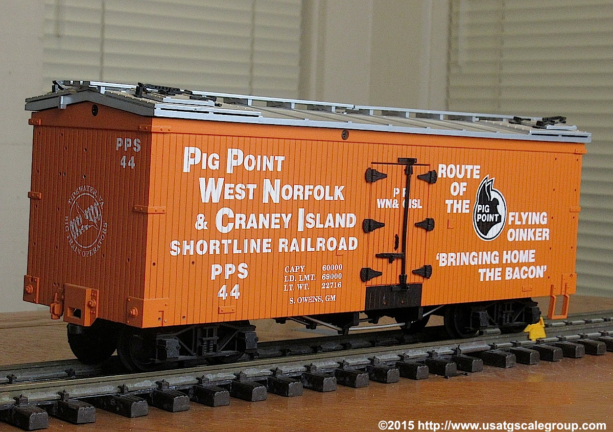 Pig Point & Craney Island Kühlwagen (Reefer) PPS 44
