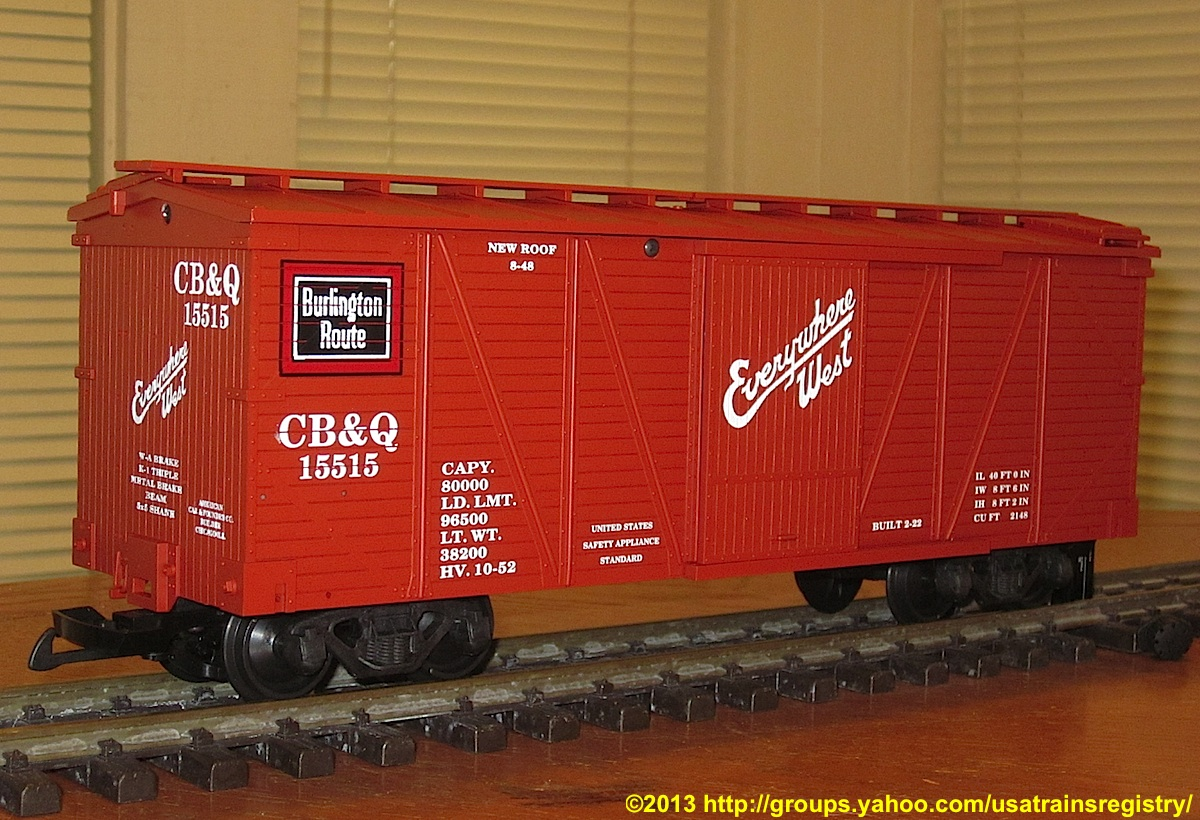 CB&Q Güterwagen (Box car) 15515