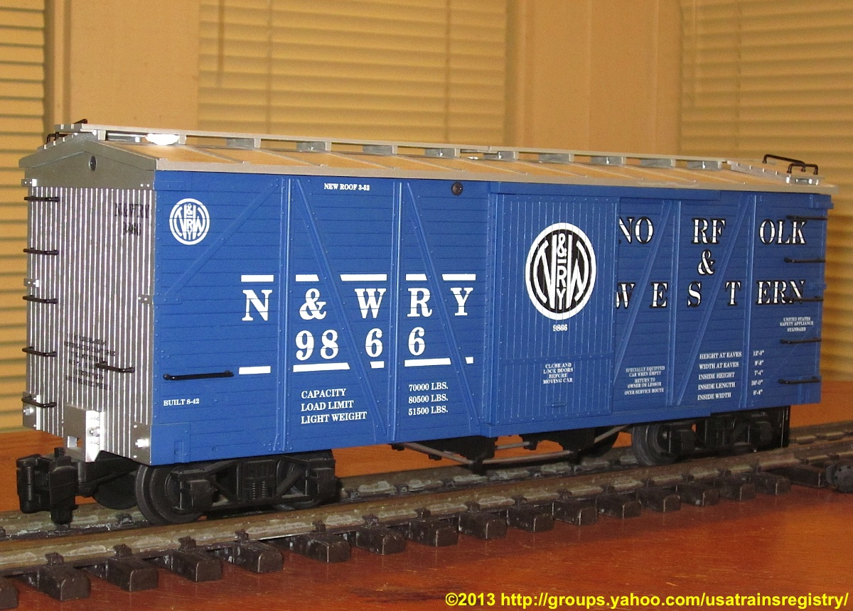 Norfolk & Western Güterwagen (Box car) 9866