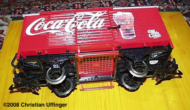Coca-Cola G�terwagen (Box car) - Sound