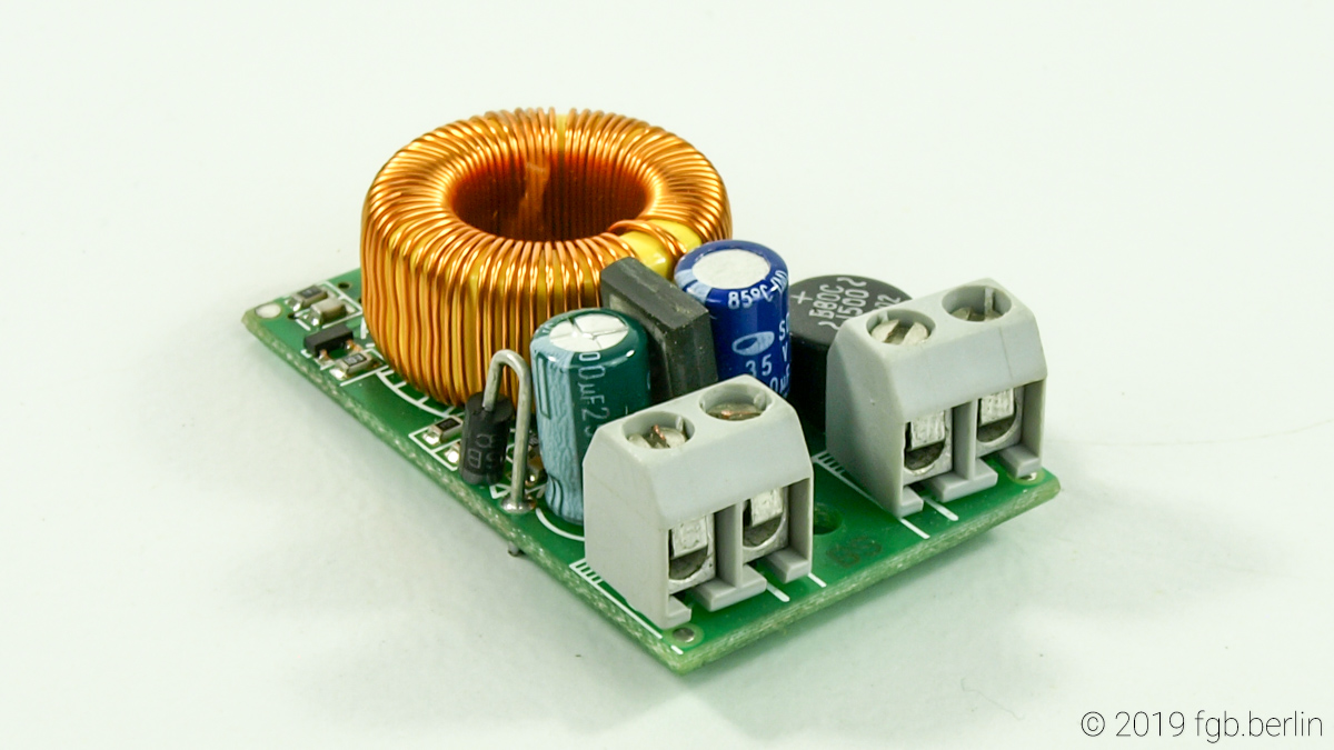 Festspannungsregler (Voltage Regulator), 5 Volts