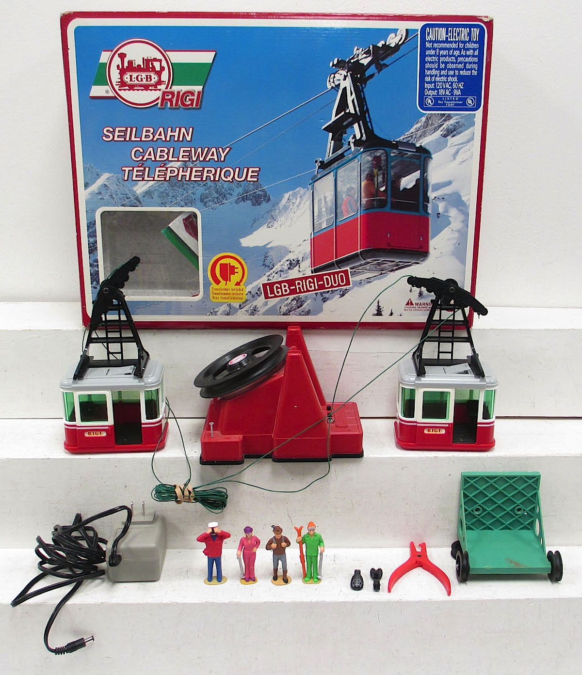 RIGI DUO®-Pendelbahn (Cable way), 120 Volt