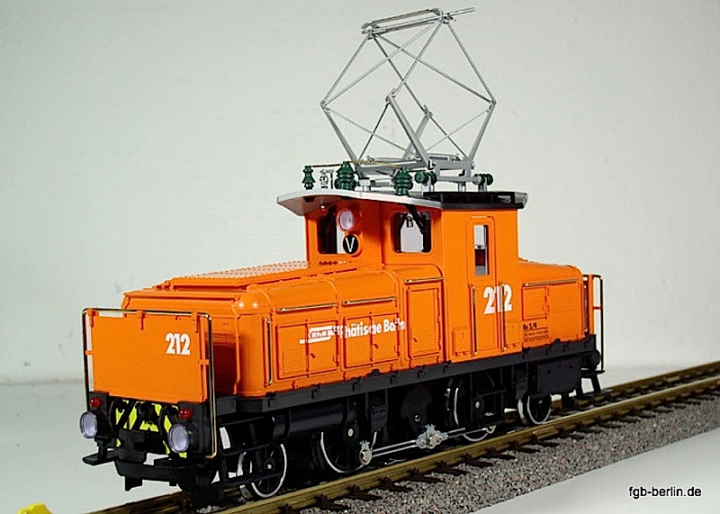 RhB Ellok (Electric locomotive) Ge 2/4 212