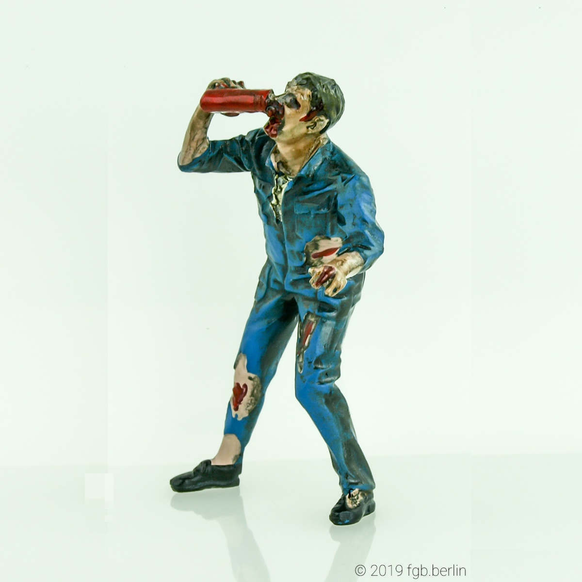 Zombie Geeky (American Diorama)