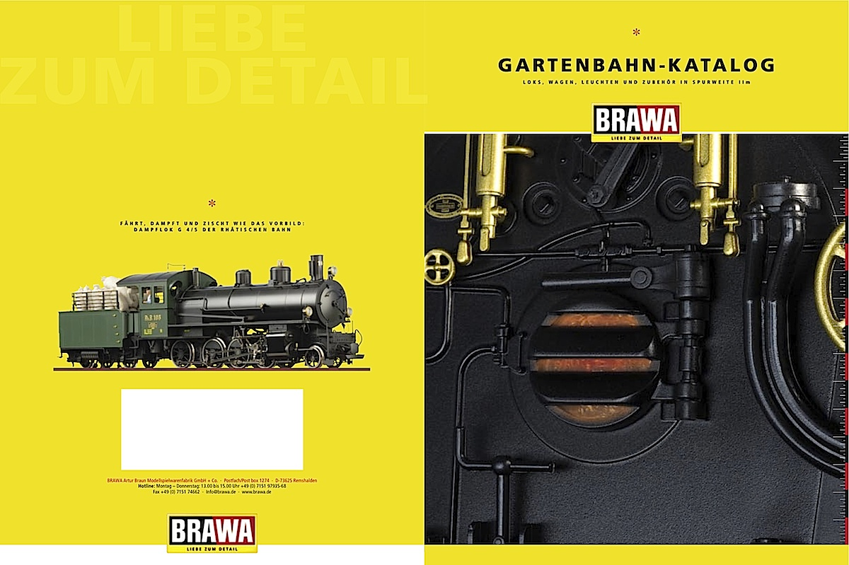 Brawa Katalog (Catalogue) 2007