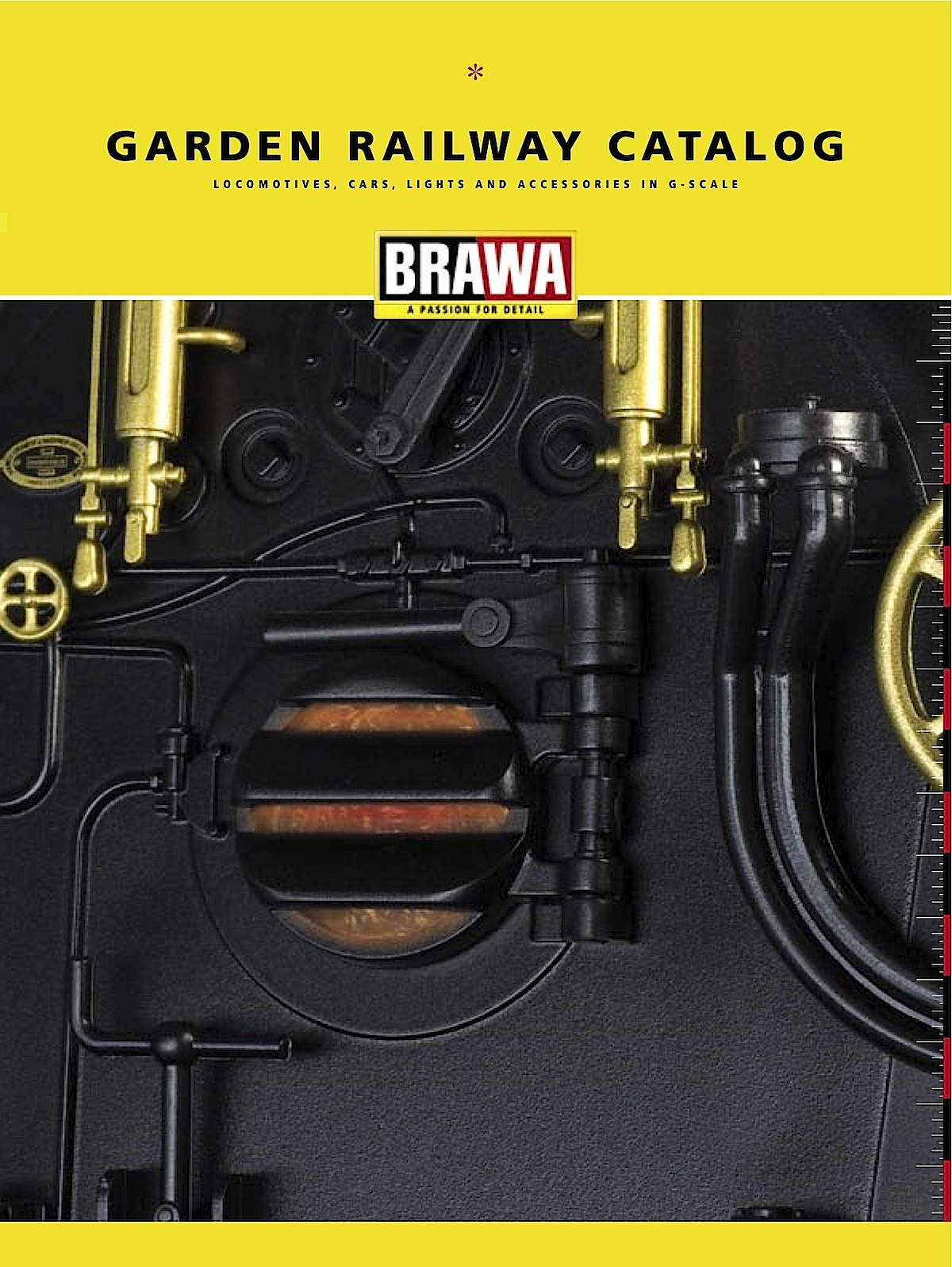Brawa Katalog (Catalogue) 2007 in English