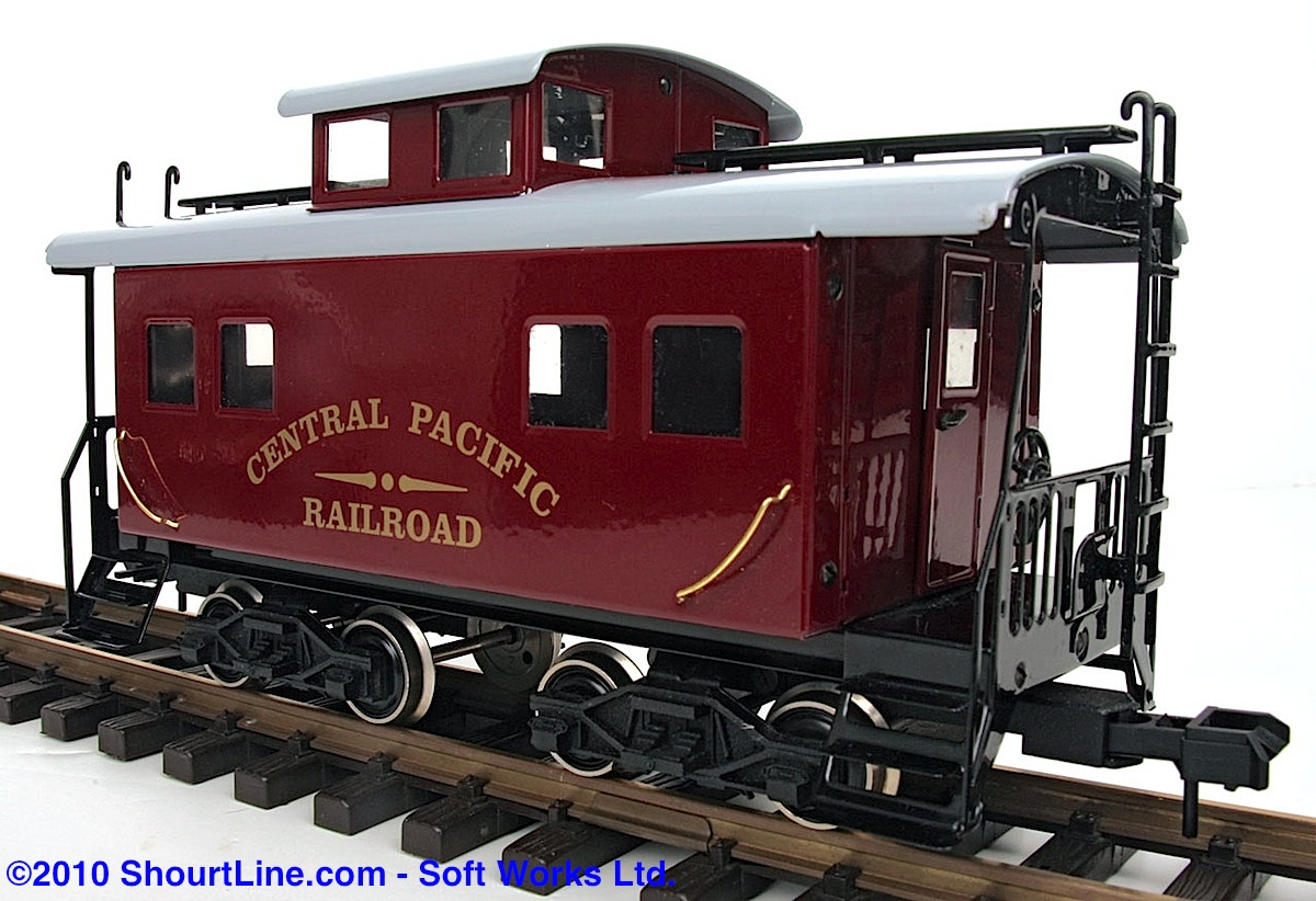 Central Pacific Railroad Caboose