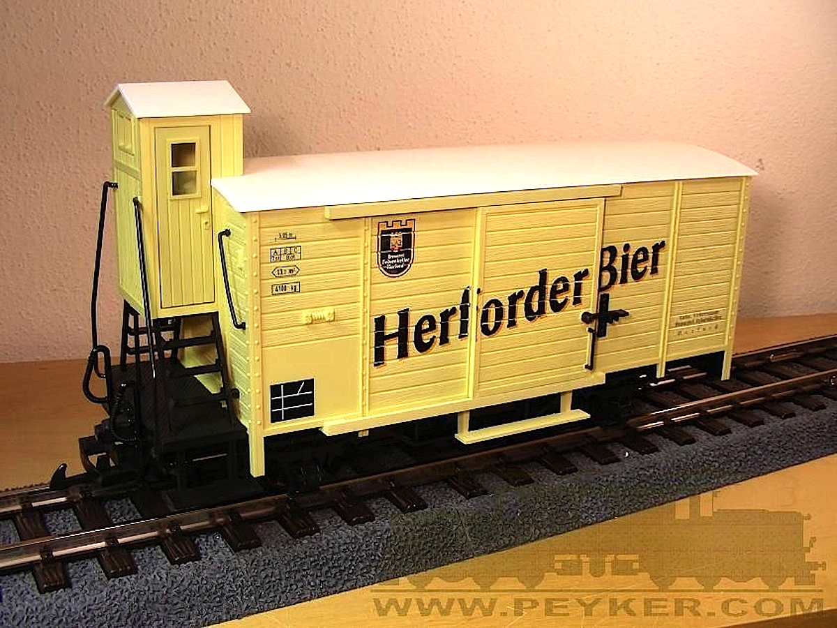 Bierwagen Herforder® Bier (Beer car)