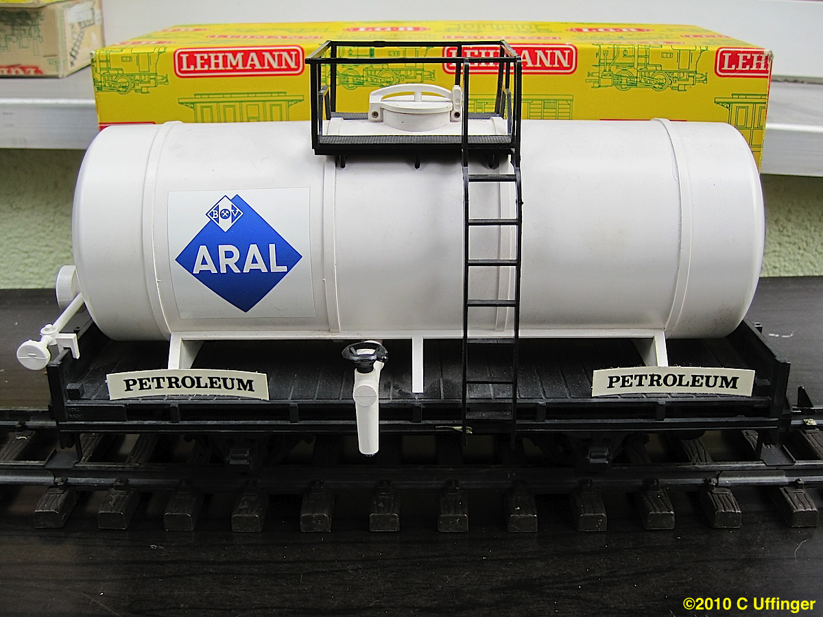 Langkesselwagen (Early tank car) Aral