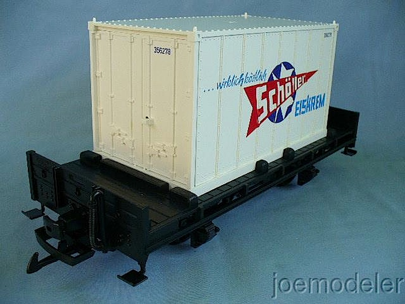 Schöller-Eis®-Containerwagen (Container car)