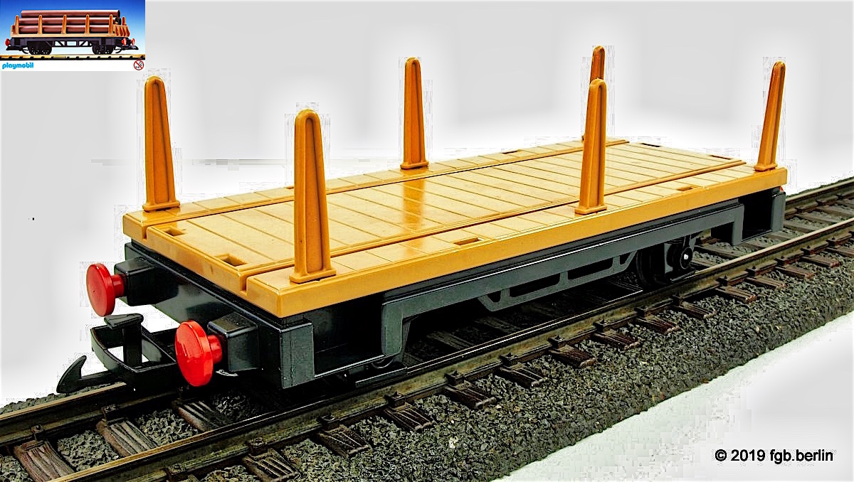 Playmobil - Rungenwagen (Flat Car with Stanchions)
