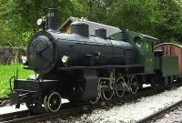 RhB Dampflok (Steam locomotive) G 4/5 108