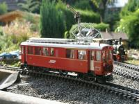 RhB Triebwagen, rechte Seite (Rail car, right side) ABe 4/4 34