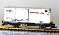 RhB Containerwagen (Container car) Lb 7872