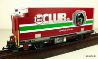 LGB-CLUB® Containerwagen (Container car) 2007