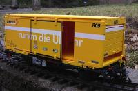 RhB Containerwagen (Container car) Lb-v 7862