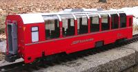 RhB Panoramawagen 2. Klasse (Panorama car 2nd class) B 2505