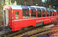 "RhB ""Bernina"" Panoramawagen 2. Klasse (Panorama car 2nd class) B 2505"