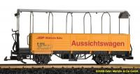 RhB Aussichtswagen (Sightseeing car) B2092