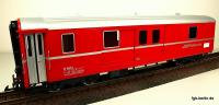 RhB Gepäckwagen (Baggage car) D4214