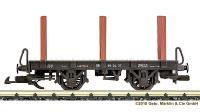 DR Rungenwagen (Flat car with stakes) 99-04-37