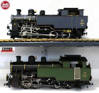 DFB Zahnraddampflok (Cog Wheel Steam Locomotive) HG 4/4 Nr. 701 (LGB & Kiss Schweiz)