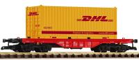 "DB Flachwagen mit (Flat car with) 20' Container ""DHL"""