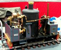 Chaloner Dampflok (Steam locomotive)
