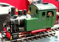 Emma Dampflok (Steam locomotive) - live-steam