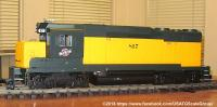 Chicago and North Western GP-30 Diesellok (Diesel Locomotive) 817