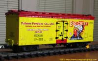 Palmer Produce Company Ltd. Big Chief Canadian Apples Kühlwagen (Reefer) PPCX 1151