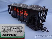D&RGW Coal Hopper (Queen Mary Series) 14376