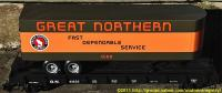 Great Northern Flachwagen (Flat car) 61633