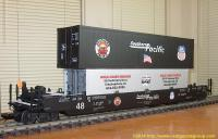 Southern Pacific Intermodal Container Wagen (Container car) 062807