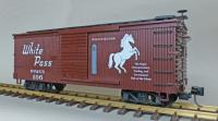 "WP&Y Box Car 106 ""Whitehorse"" (rechte Seite/ right hand side)"