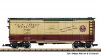 Napa Valley Railroad Boxcar 1202