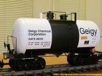 Geigy Chemical Corporation Kesselwagen (Tank car) GATX 88393