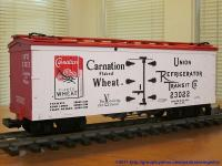 Carnation Flaked Wheat Kühlwagen (Reefer) URTCo 23022