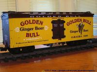 Golden Bull Ginger Beer Kühlwagen (Reefer) GBGBL 340