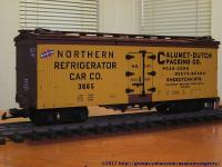 Calumet-Dutch Packing Co. Kühlwagen (Reefer) NRCCo 3665