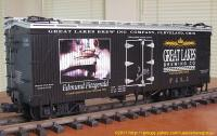 Great Lakes Brewing Company Kühlwagen (Reefer) GLBX 12504
