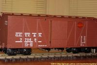 NMRA Heritage Series No. 6 - Gulch Route gedeckter Güterwagen (Outside braced box car) 77569