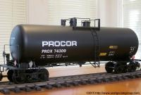 Procor 42-foot Kesselwagen (Tank car) PROX 74309